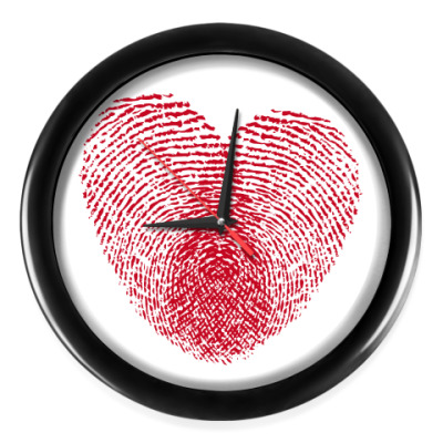 Настенные часы Отпечатки Любви