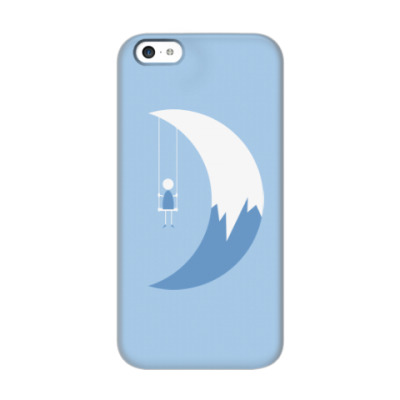 Чехол для iPhone 5c Качели на Луне