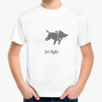 Детская футболка Первый полёт