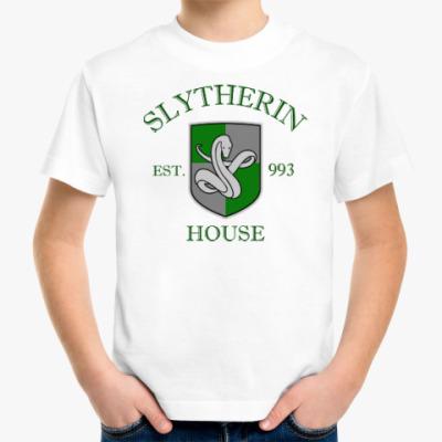 Детская футболка Slytherin