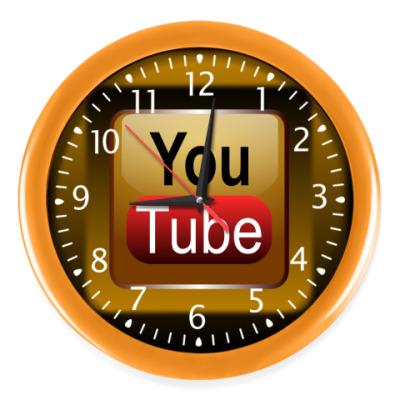 Настенные часы YouTube