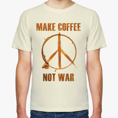 Футболка Make Coffee Not War