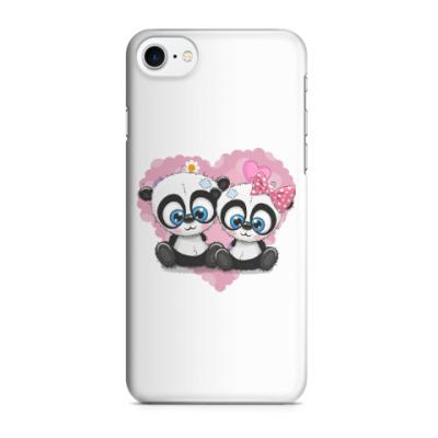 Чехол для iPhone 7/8 Маленькие панды
