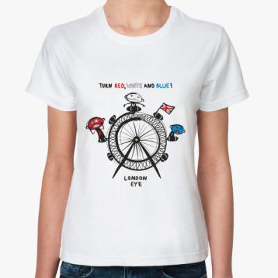 Классическая футболка London Eye