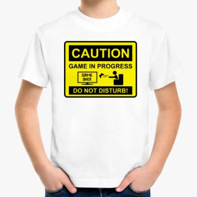 Детская футболка Game in progress