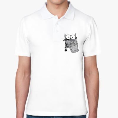 Рубашка поло Упячка Кот