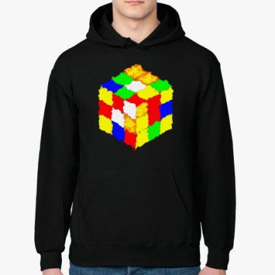 Толстовка худи Кубик Рубика