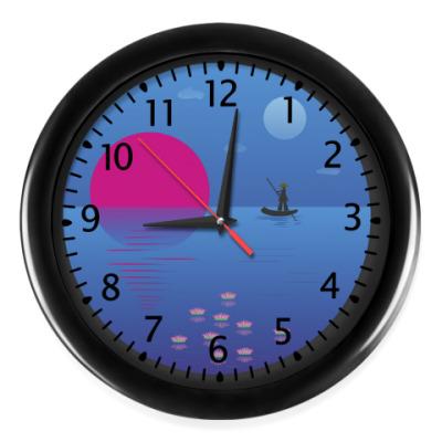 Настенные часы Восточный мотив