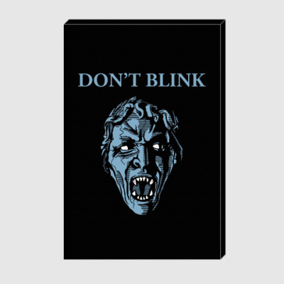 Холст Don't Blink