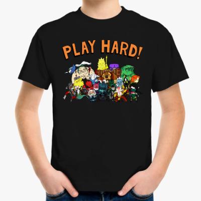 Детская футболка Play Hard!