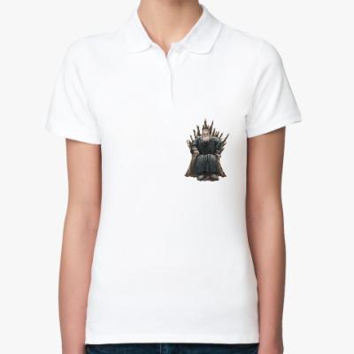 Женская рубашка поло Игра Престолов: Ходор