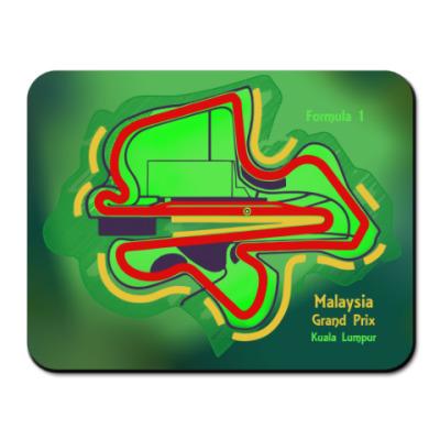Коврик для мыши Формула 1 Куала-Лумпур