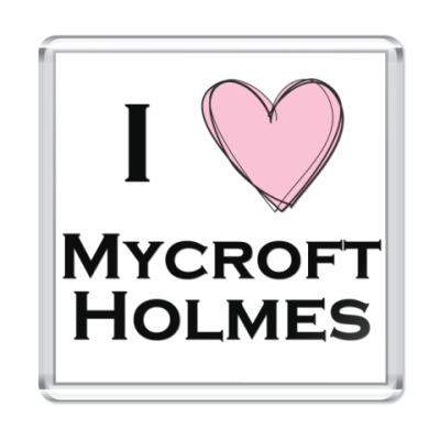 Магнит I <3 Mycroft Holmes
