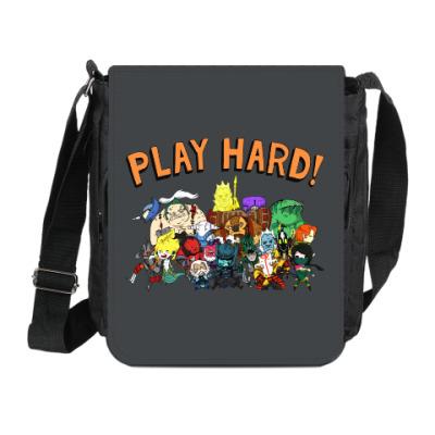 Сумка на плечо (мини-планшет) Play Hard!