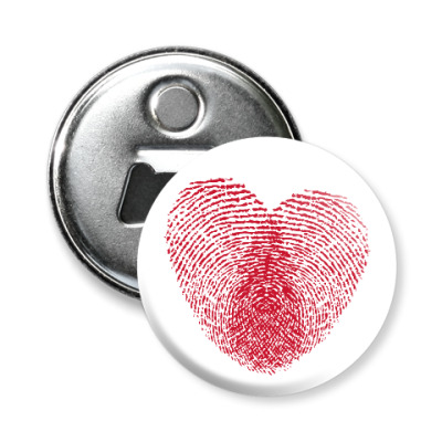 Магнит-открывашка Отпечатки Любви