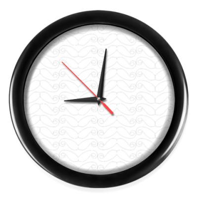 Настенные часы Усы №2