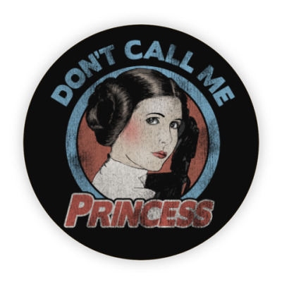 Костер (подставка под кружку) Star Wars Princess Leia Organa