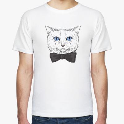 Футболка Hipster Cat