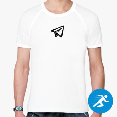 Спортивная футболка Telegram