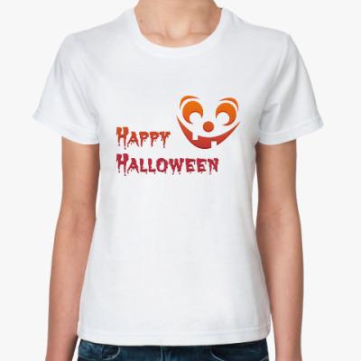 Классическая футболка Happy Helloveen