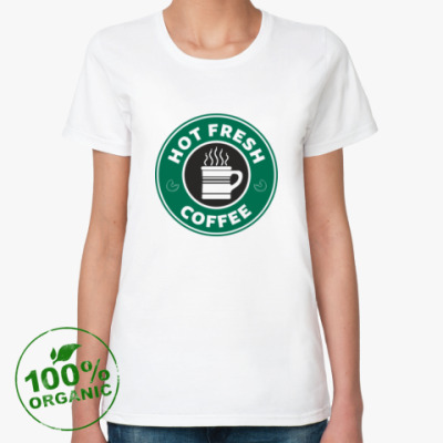 Женская футболка из органик-хлопка HOT FRESH [NCIS]