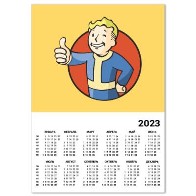 Календарь Fallout 4