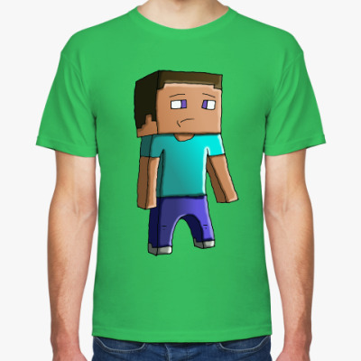 Футболка Minecraft Steve