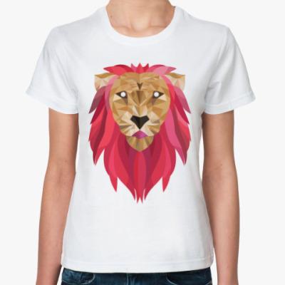 Классическая футболка Лев / Lion