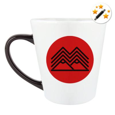 Кружка-хамелеон Символ Твин Пикс Twin Peaks