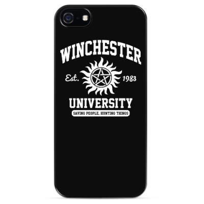 Чехол для iPhone Winchester University