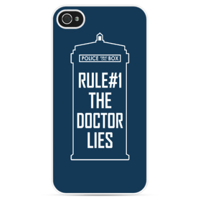 Чехол для iPhone Rule #1: The Doctor Lies
