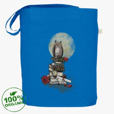 Сумка Мудрая сова и книги