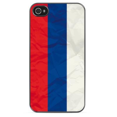 Чехол для iPhone Флаг России
