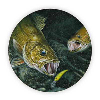 Костер (подставка под кружку) Рыбы
