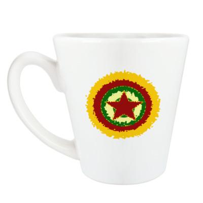 Чашка Латте Звезда