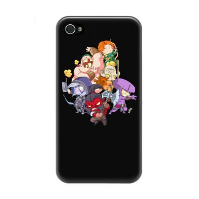 Чехол для iPhone 4/4s Dota 2