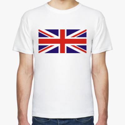 Футболка Британский флаг