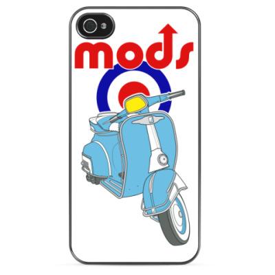 Чехол для iPhone Моды скутер lambretta