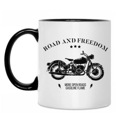 Кружка Король дорог (мотоцикл)