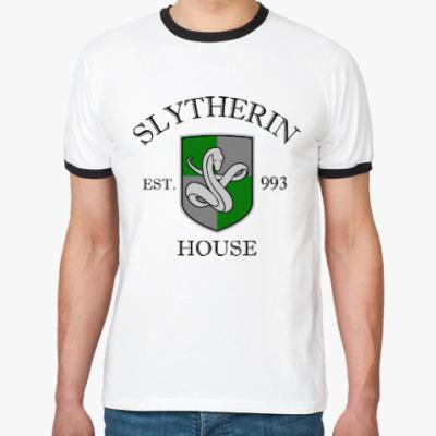 Футболка Ringer-T Slytherin