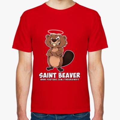 "Футболка Мужская футболка ""St. Beaver"""
