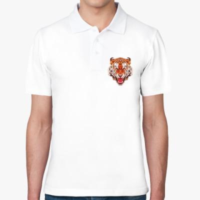 Рубашка поло Тигр