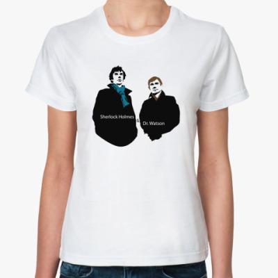 Классическая футболка SH & DW