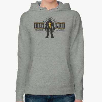 Женская толстовка худи Battlefield Titan Pilot