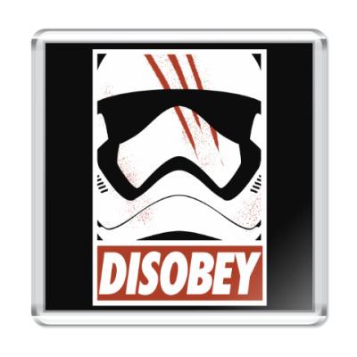 Магнит Star Wars: Disobey