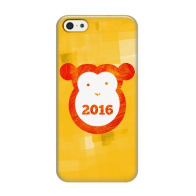 Чехол для iPhone 5/5s Год Огненной Обезьяны 2016