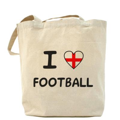 Сумка Я люблю английский футбол