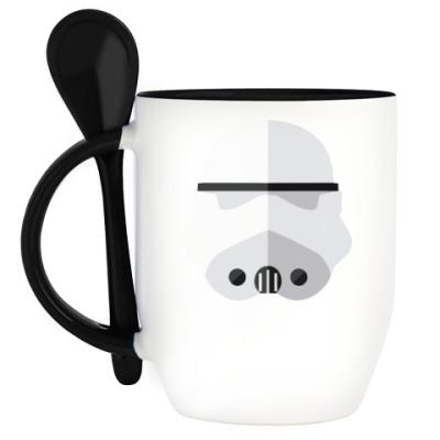 Кружка с ложкой Star Wars Штурмовик