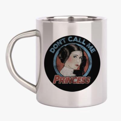 Кружка металлическая Star Wars Princess Leia Organa