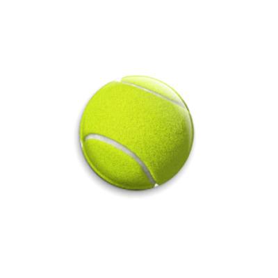 Значок 25мм Теннисный мяч